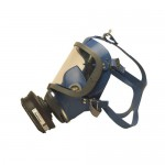 SEA Full face mask (Silicon rubber with PC visor)